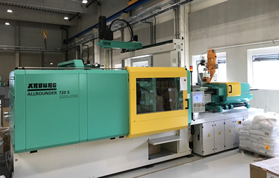 BKT invests in new injection molding machine