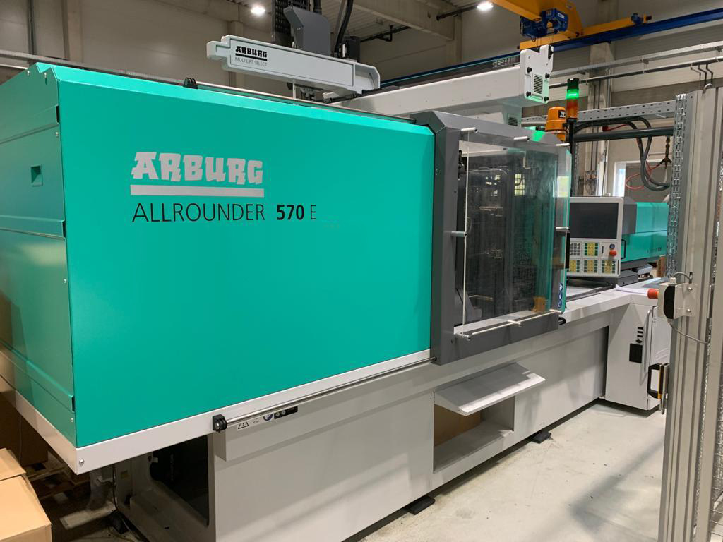 BKT is investing again in a new injection molding machine