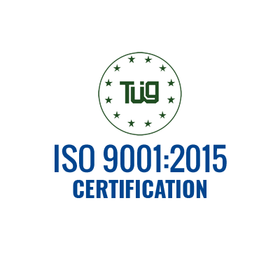 New ISO 9001 certification