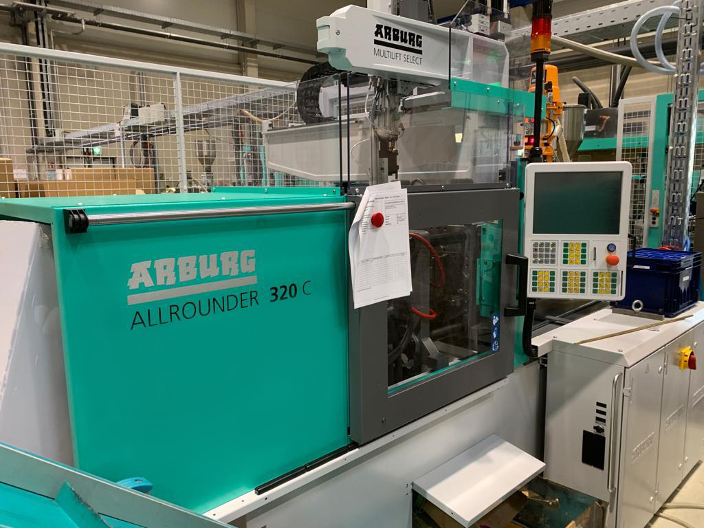 New ARBURG injection molding machine